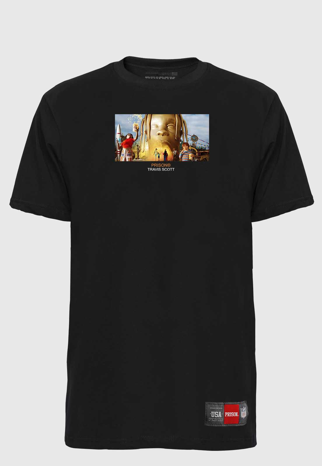 Camiseta Streetwear Prison Astro World Travis Scott