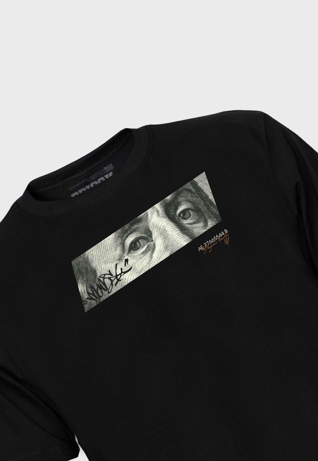Camiseta Streetwear Prison Benjamin Franklin