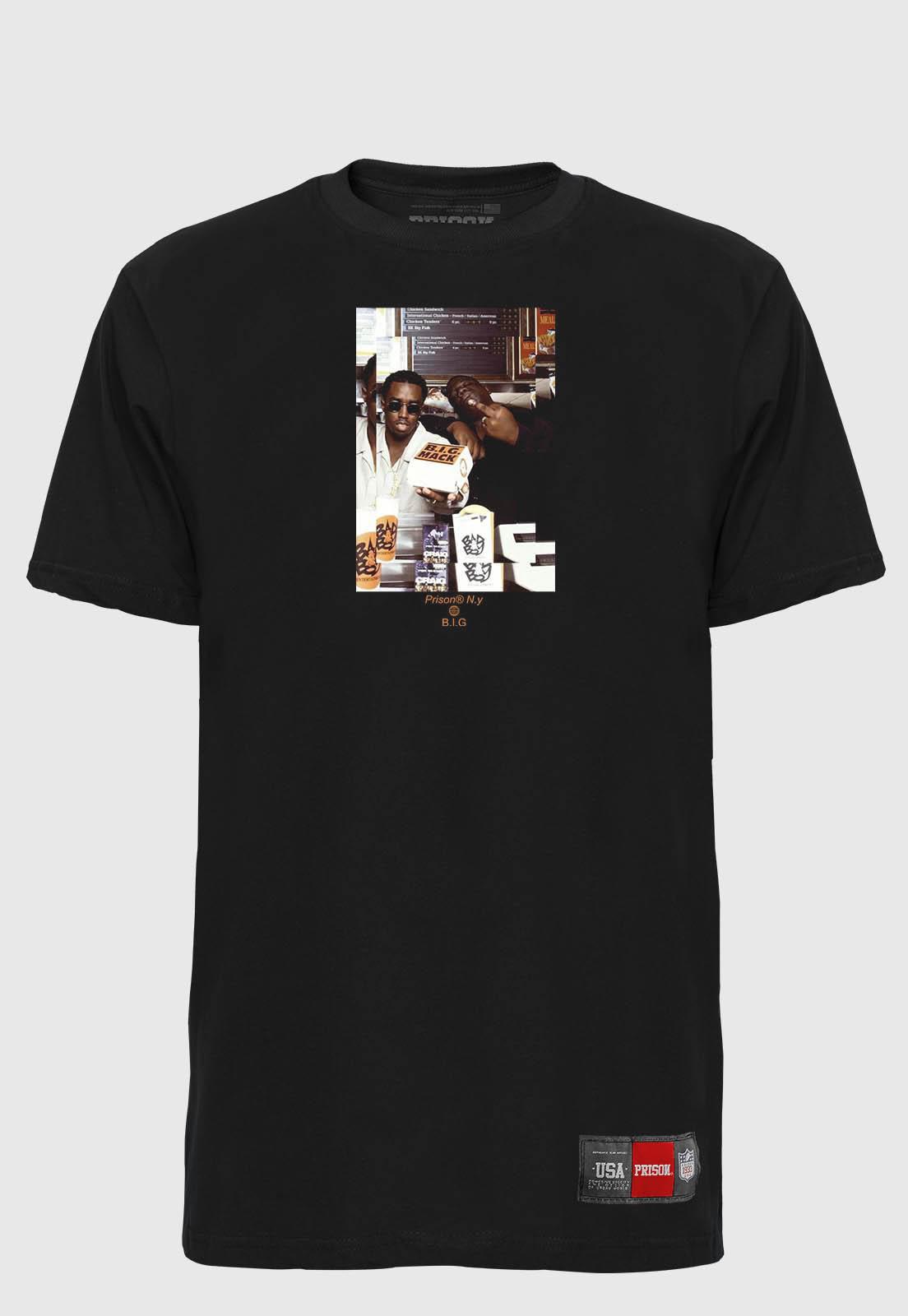 Camiseta Streetwear Prison Big NY