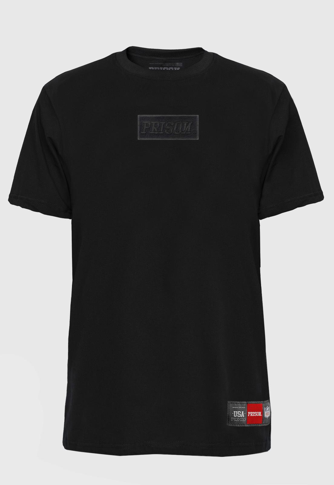 Camiseta Streetwear Prison Classic Black