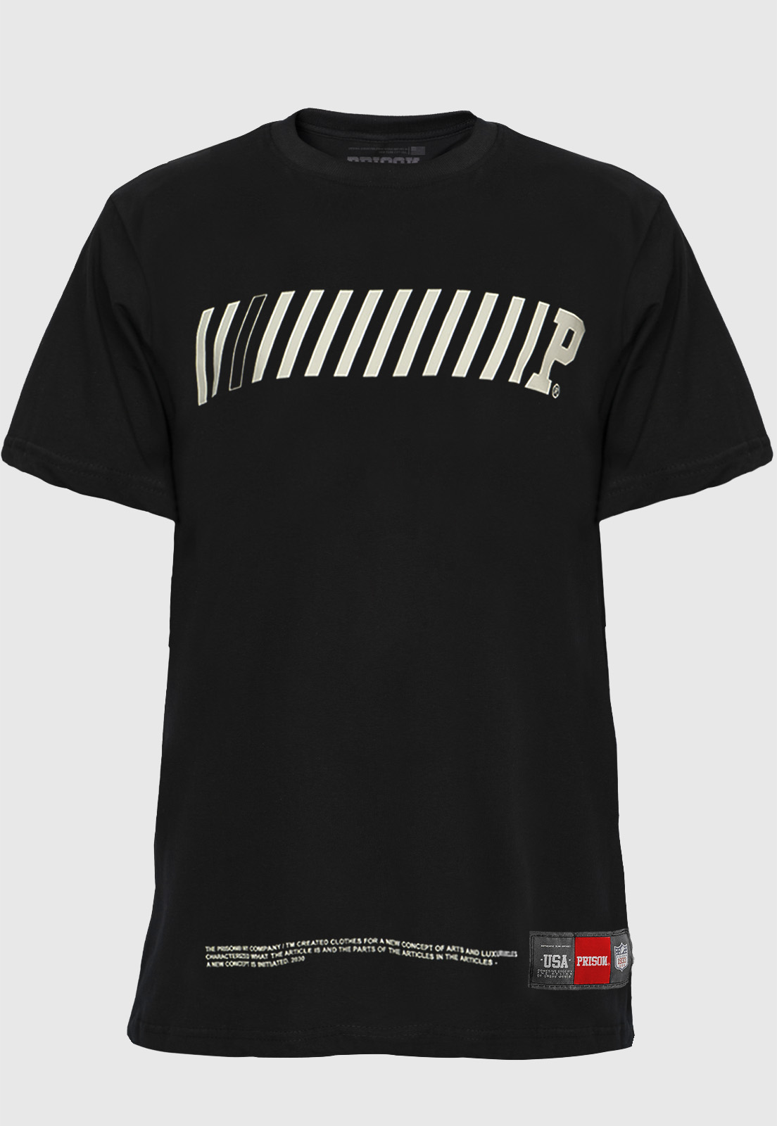 Camiseta Streetwear Prison Code