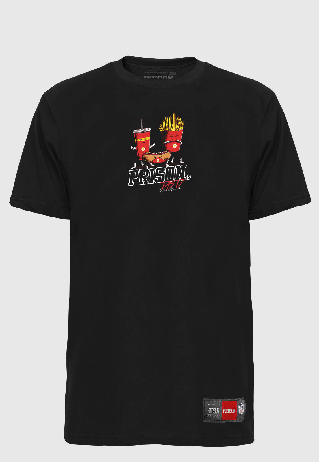 Camiseta Streetwear Prison Fasty New York
