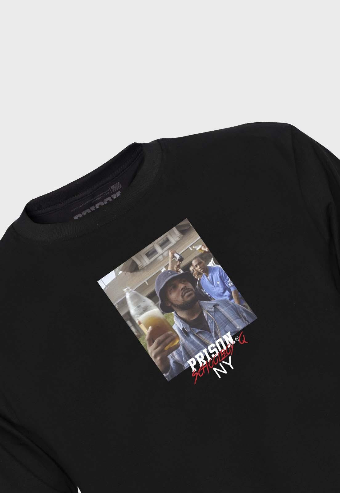 Camiseta Streetwear Prison Global Rappers Schoolboy Q