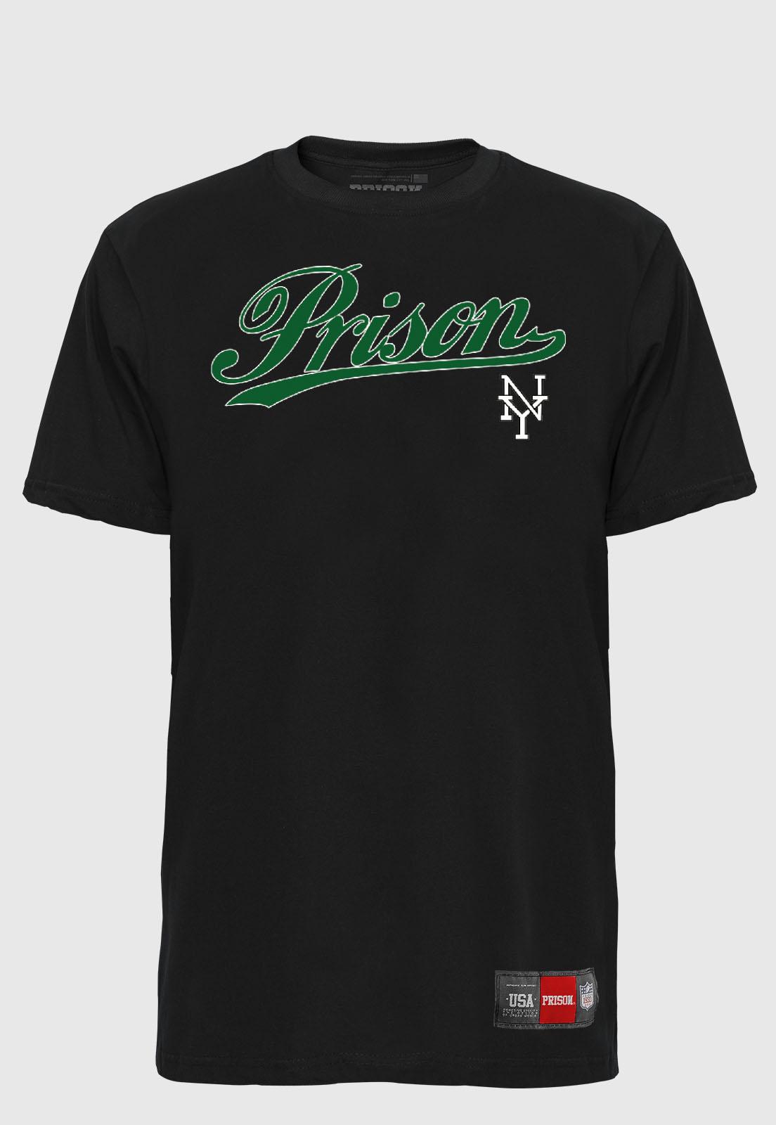Camiseta Streetwear Prison green NY