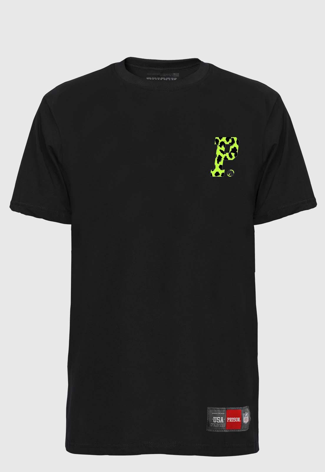 Camiseta Streetwear Prison Logo