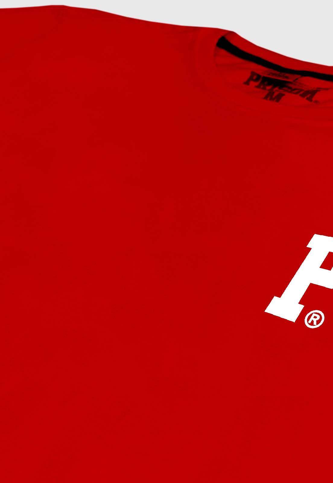 Camiseta Streetwear Prison Logo Red