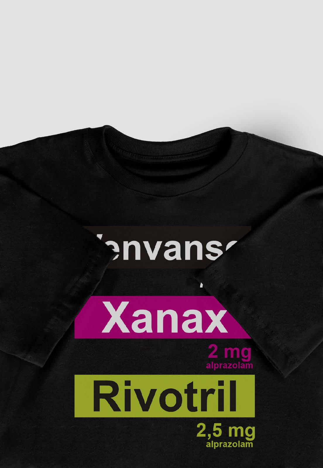 Camiseta Streetwear Prison medicines