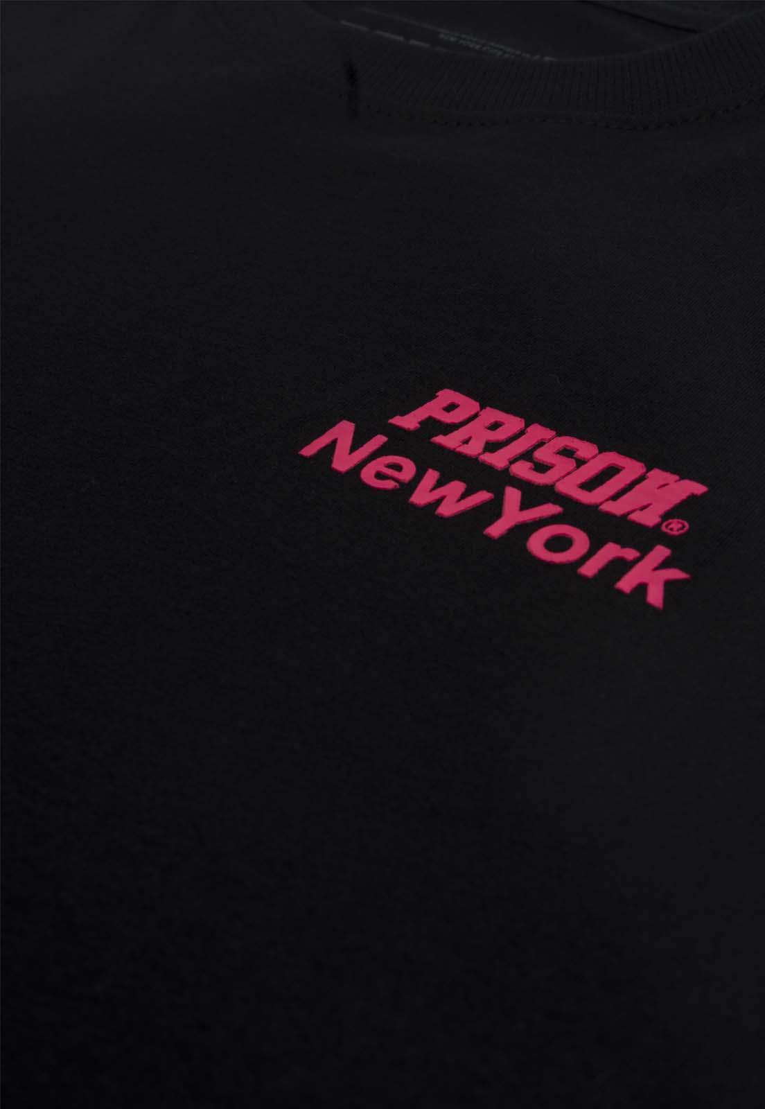 Camiseta Streetwear Prison New York Magenta