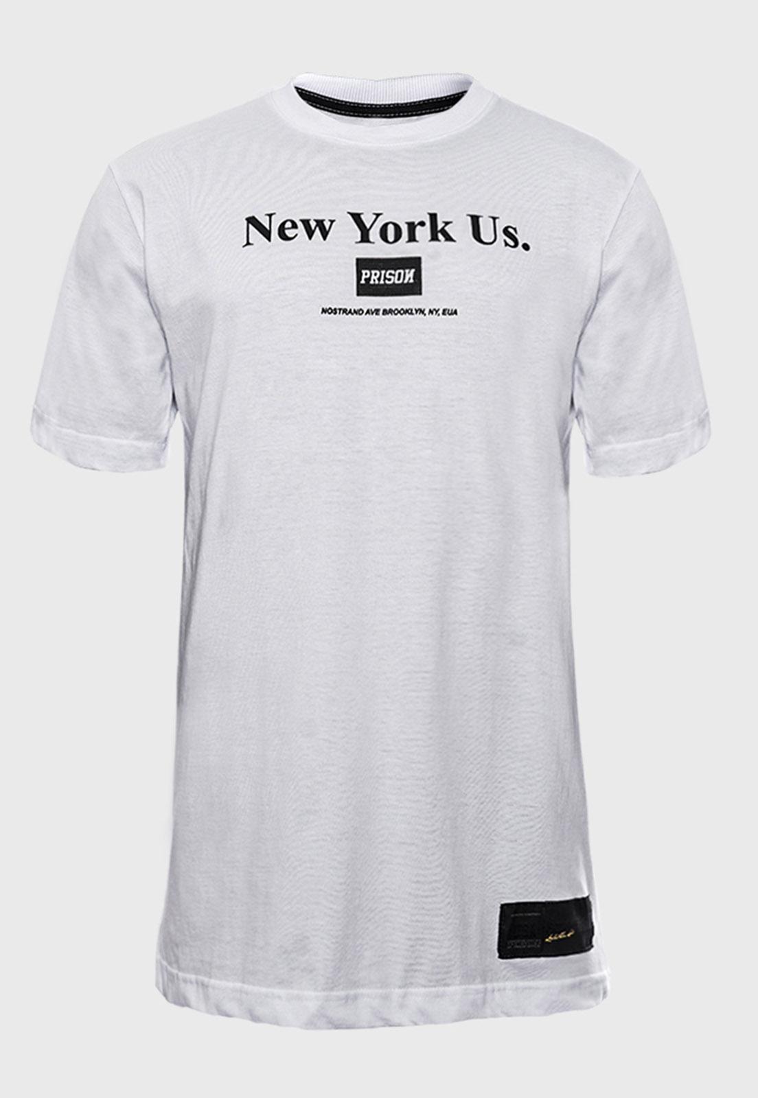 Camiseta Streetwear Prison New York US