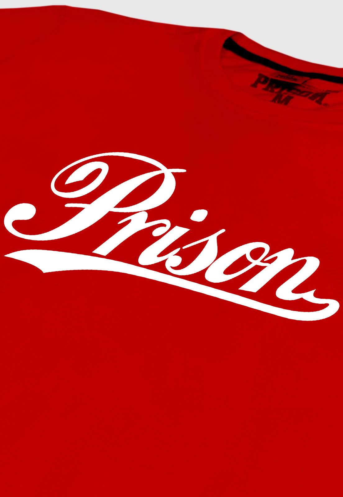 Camiseta Streetwear Prison Old School Red