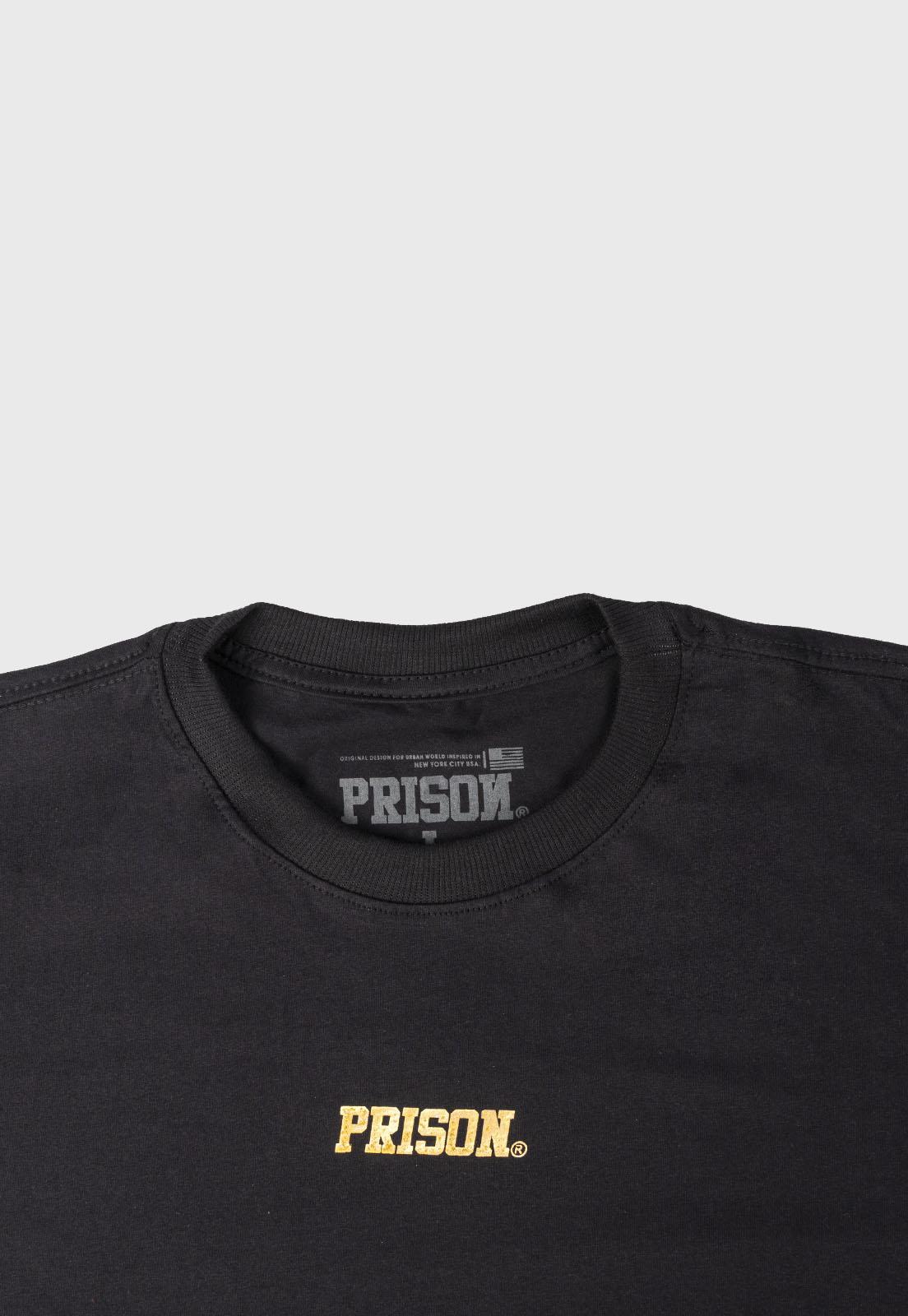 Camiseta Streetwear Prison Original Gold