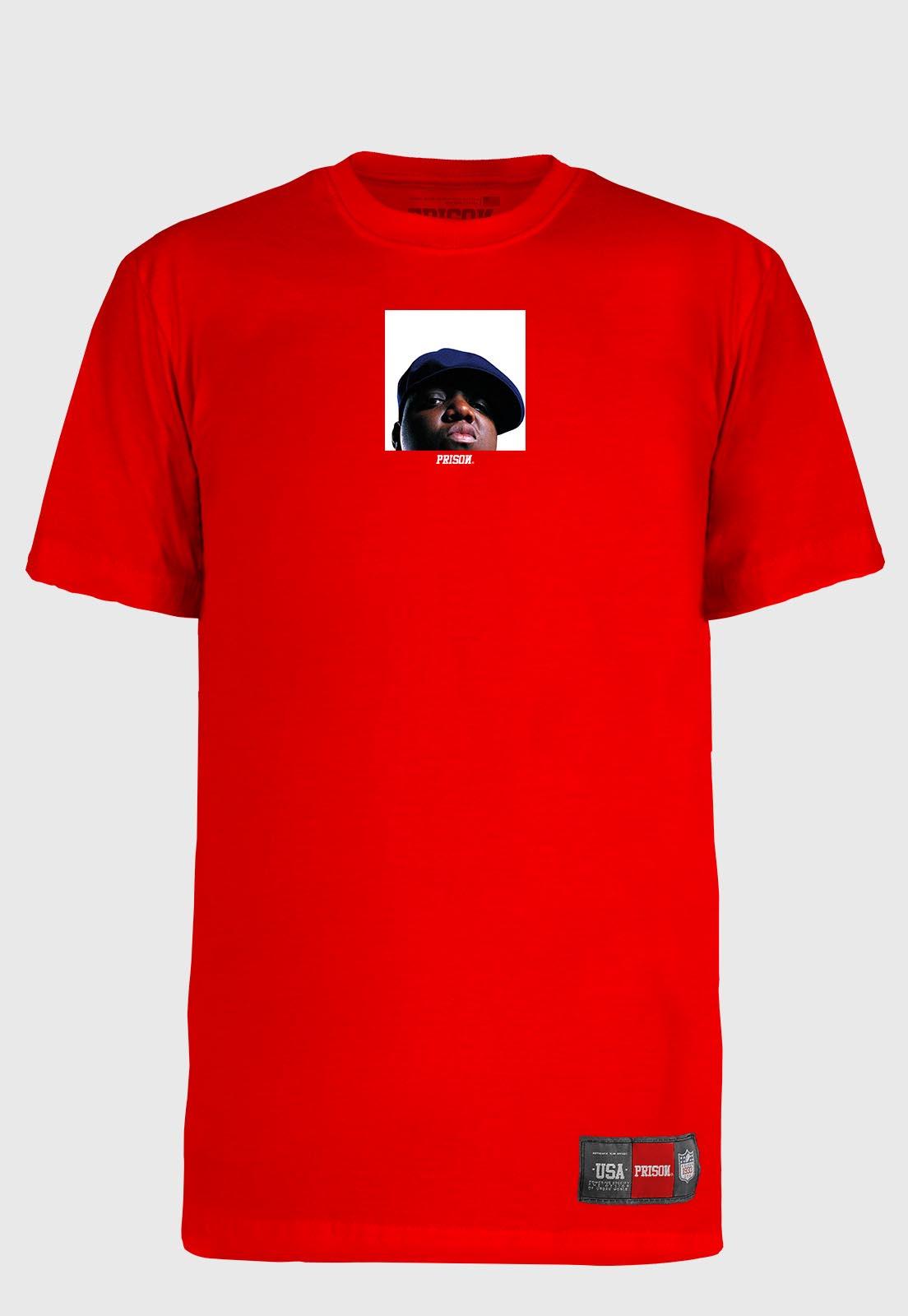Camiseta Streetwear Prison The Notorious Big