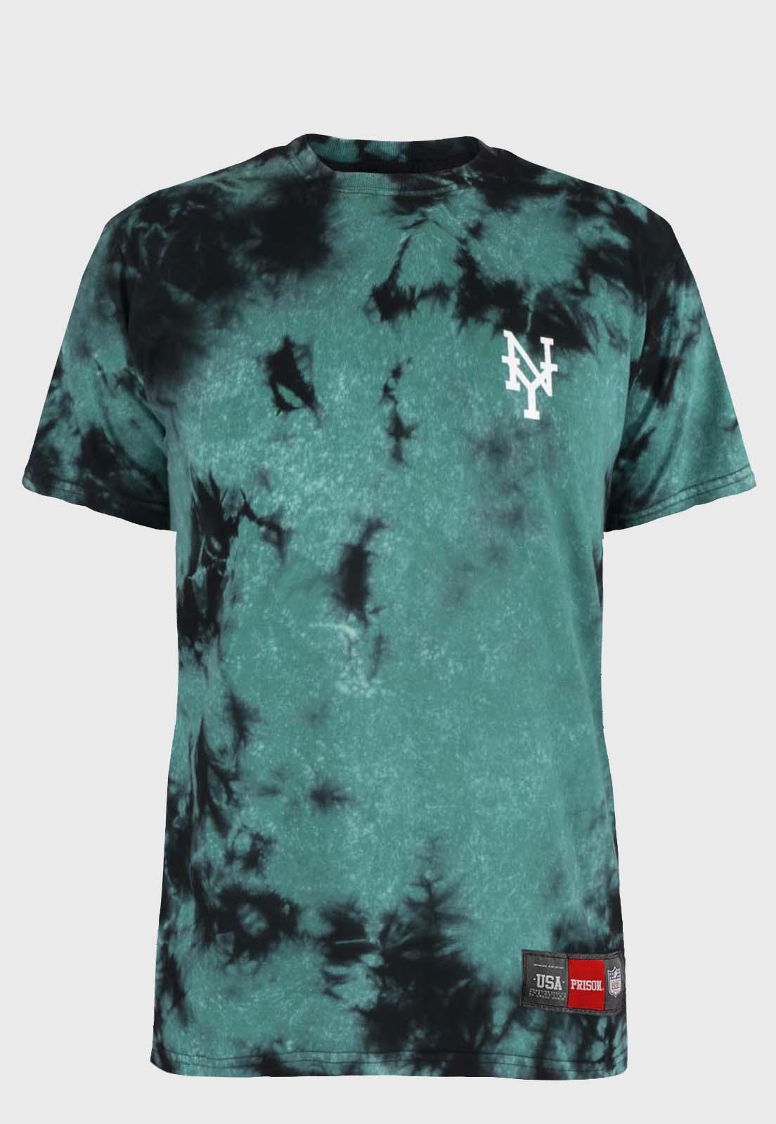 Camiseta streetwear Prison Tie-dye