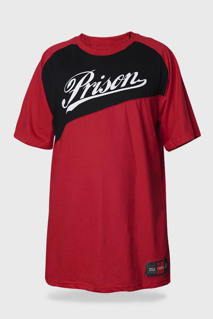 Camiseta Prison to Lean Vermelho