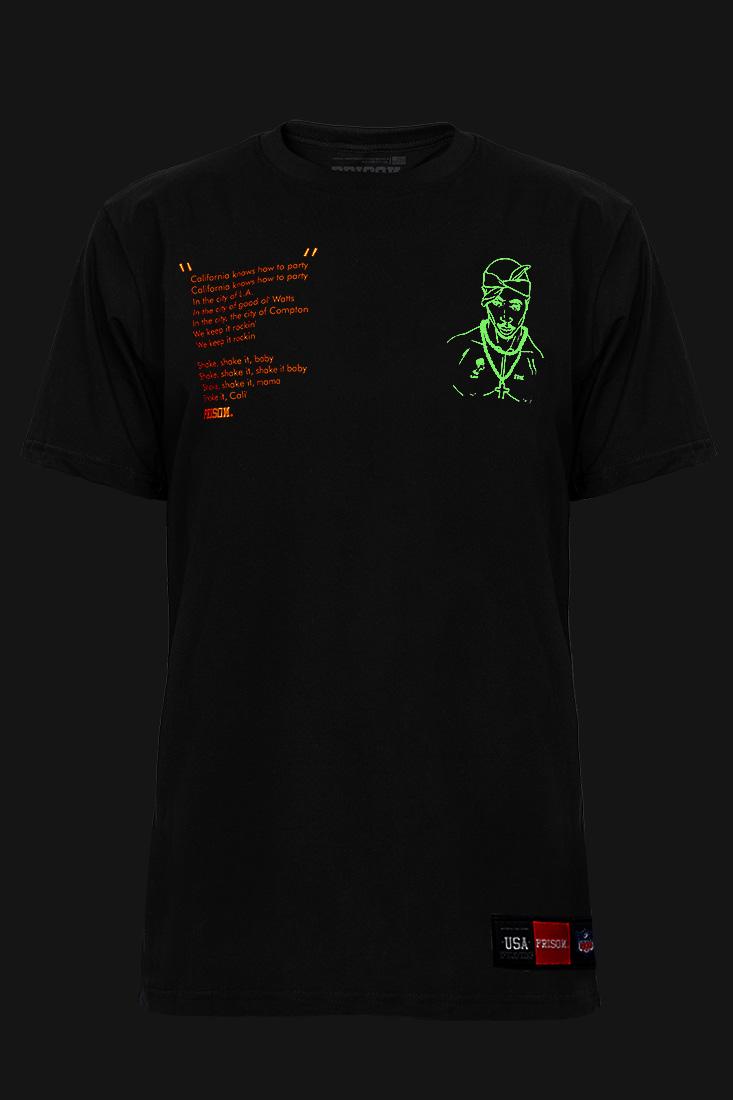 Camiseta Streetwear Prison TuPac