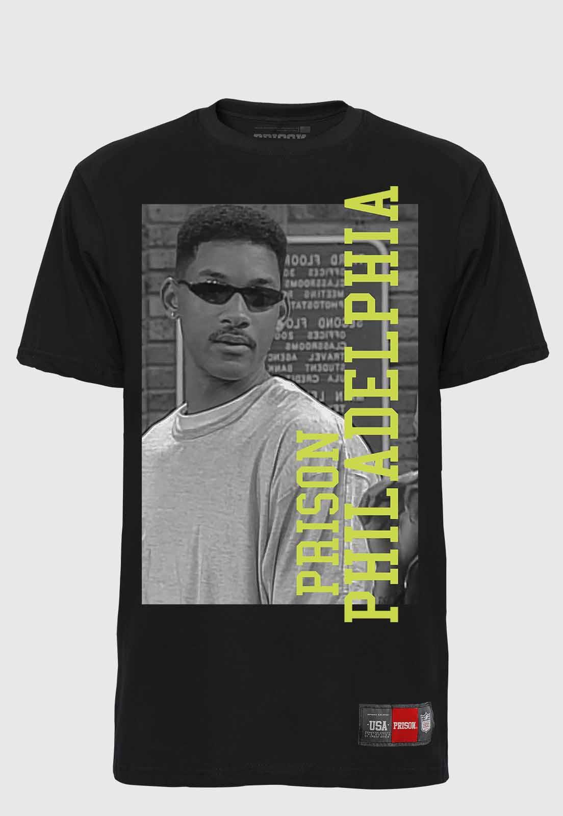 Camiseta Streetwear Prison Will Smith Philadelphia