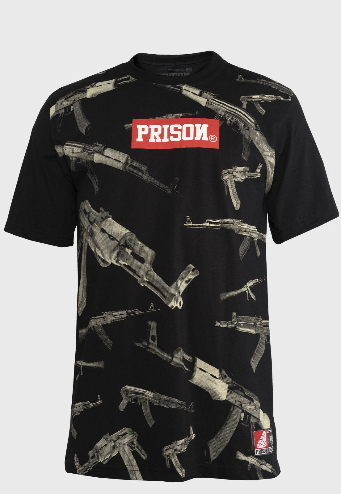 Camiseta StreetWearPrison Originales Black
