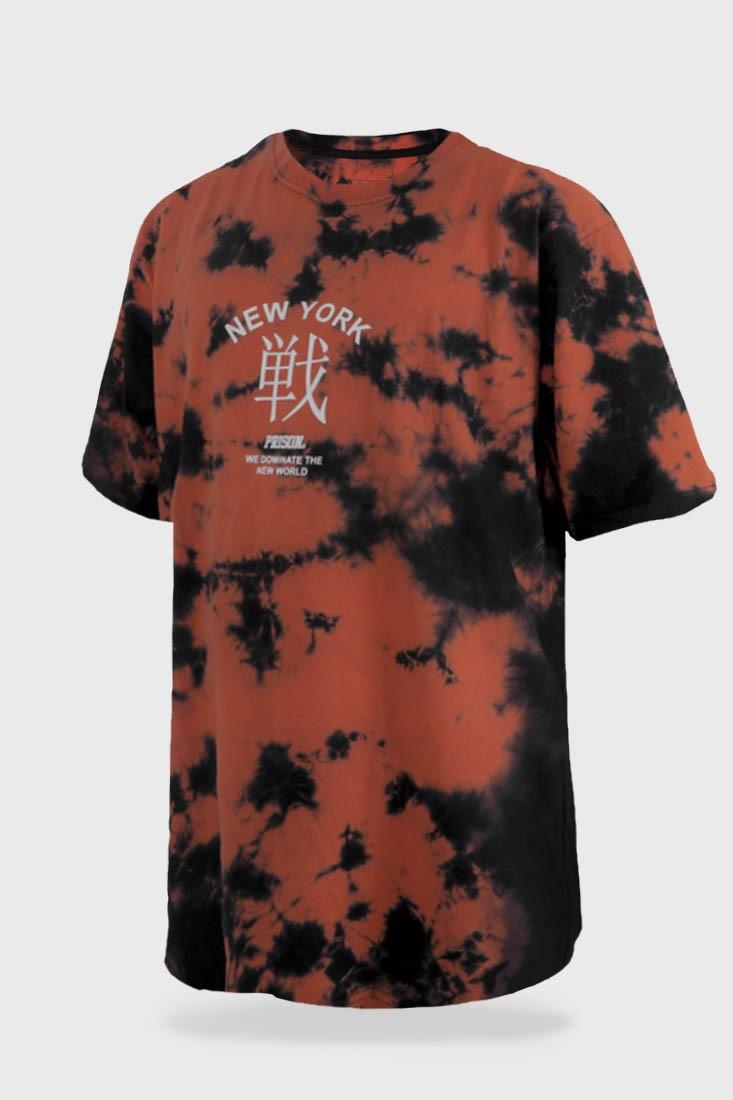 Camiseta Tie Dye Prison Fire Iron