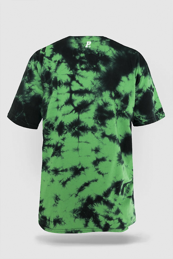 Camiseta Tie Dye Prison Organic Green