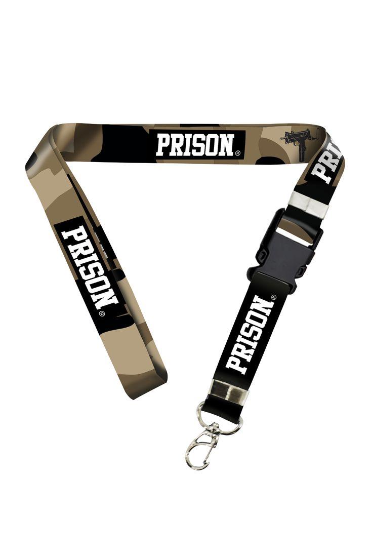 Chaveiro Cordão Prison Camuflado US Army