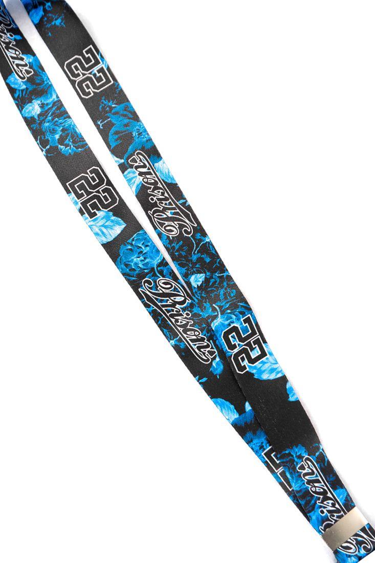 Chaveiro cordão Prison Floral Ice Blue
