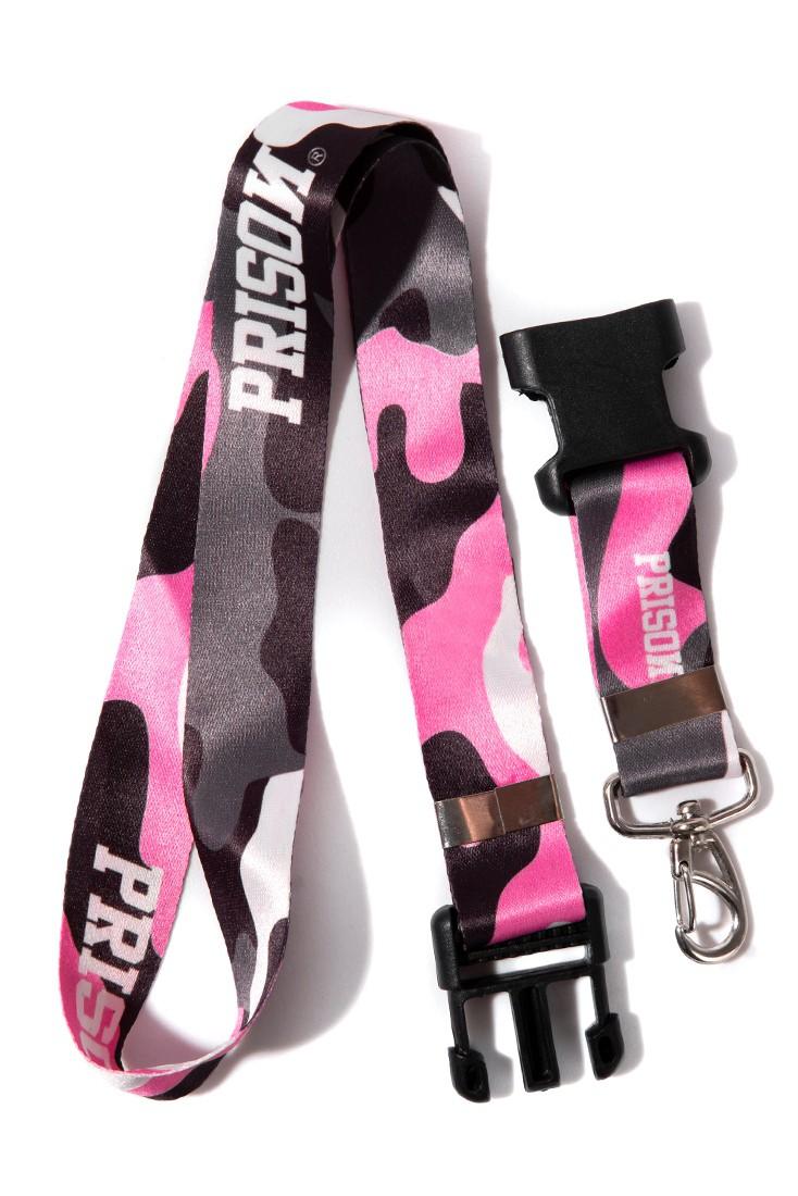 Chaveiro Cordão Prison Pink Camouflage