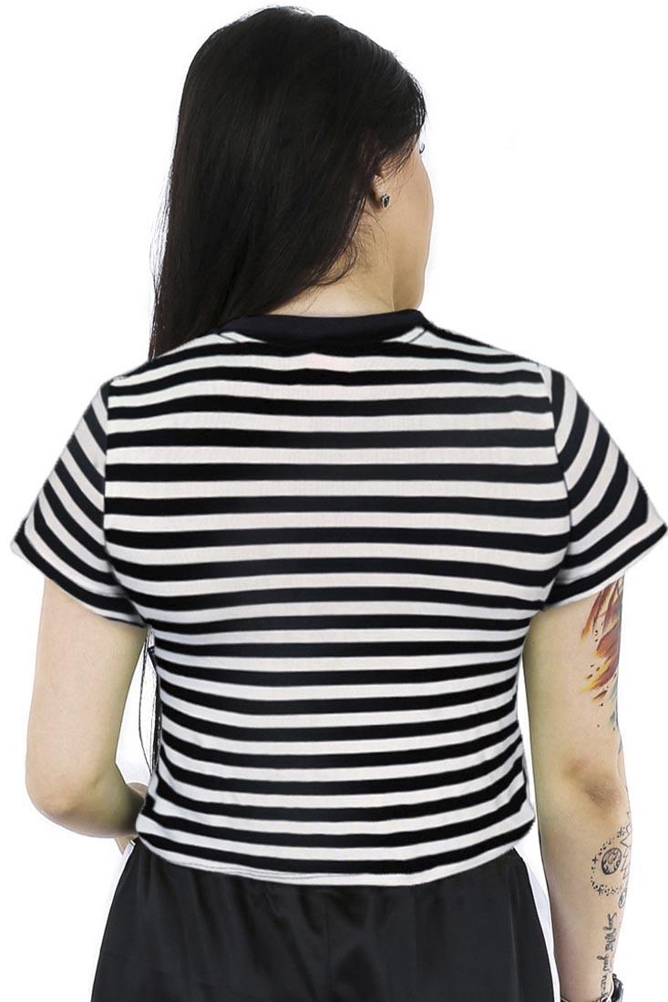 Cropped Listrada Prison Feminino