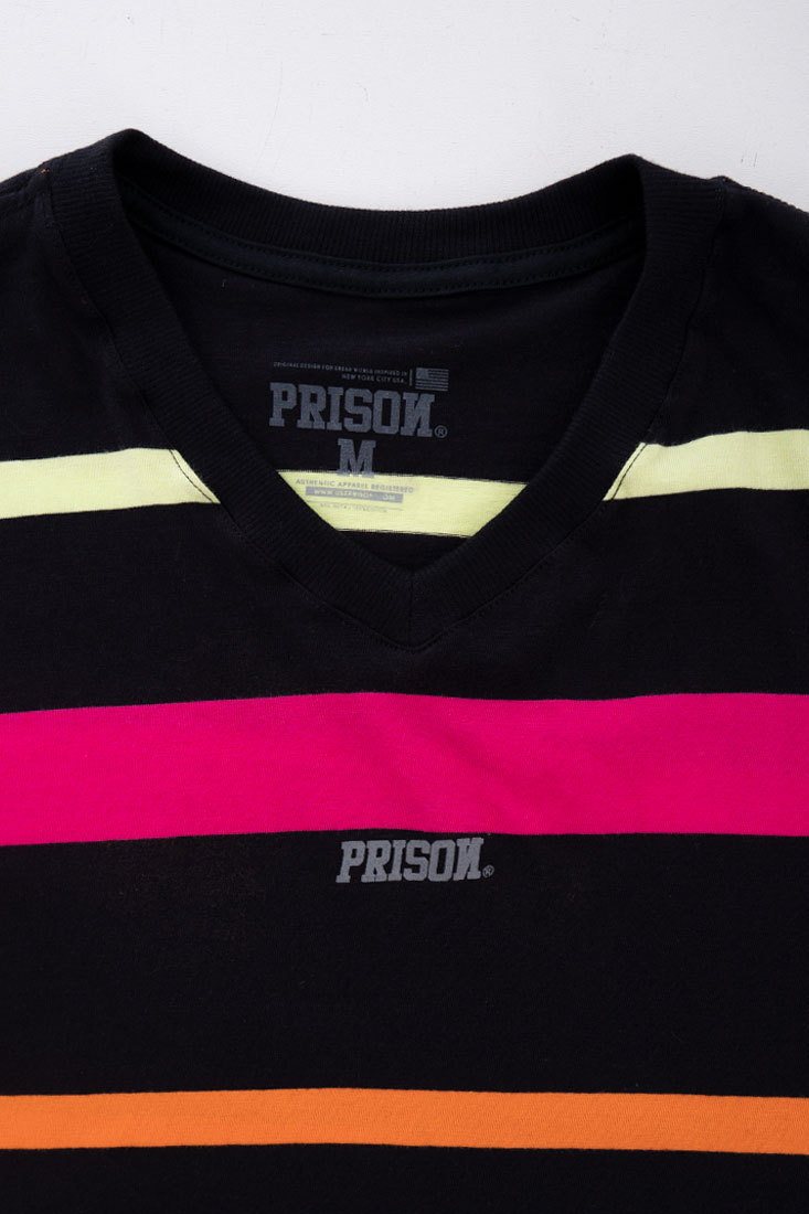 Cropped Prison Feminino Listrada Color Striped