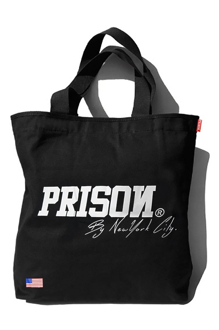 Eco Bag Prison Streetwear New York Preta