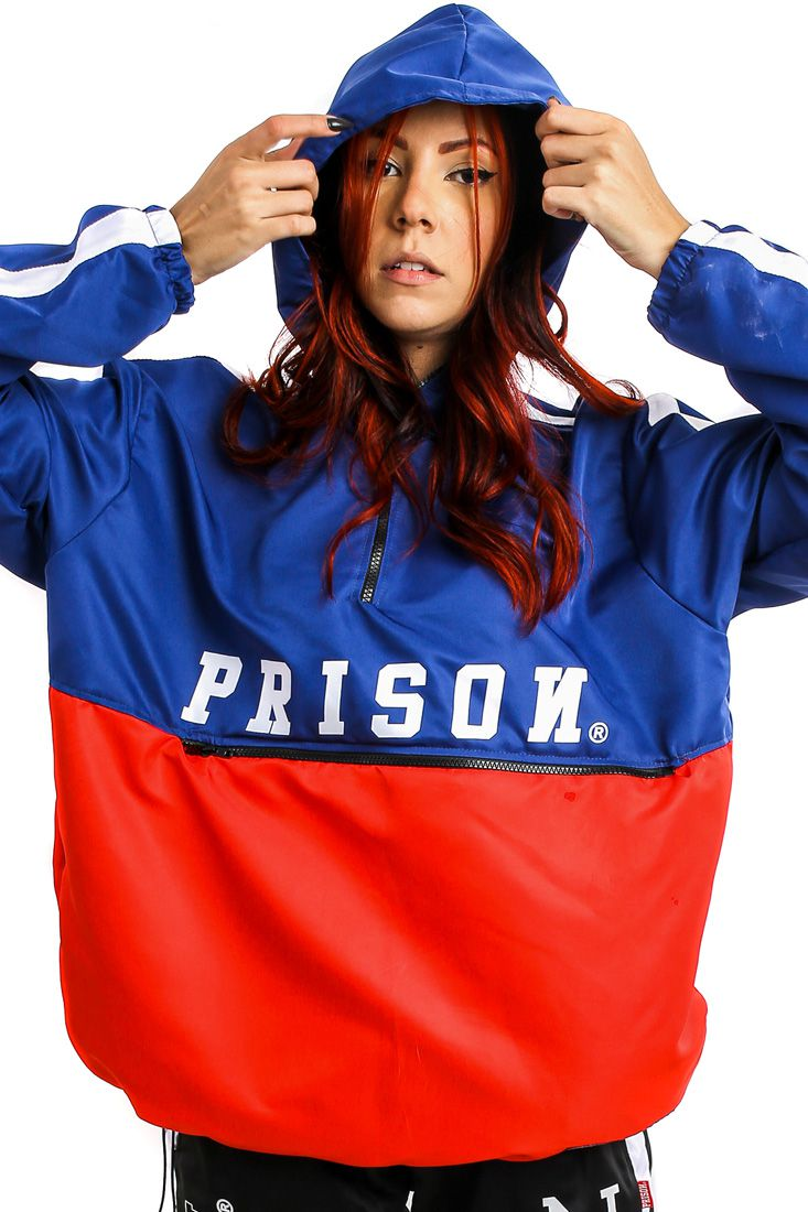 Jaqueta Corta Vento Prison Global Feminino