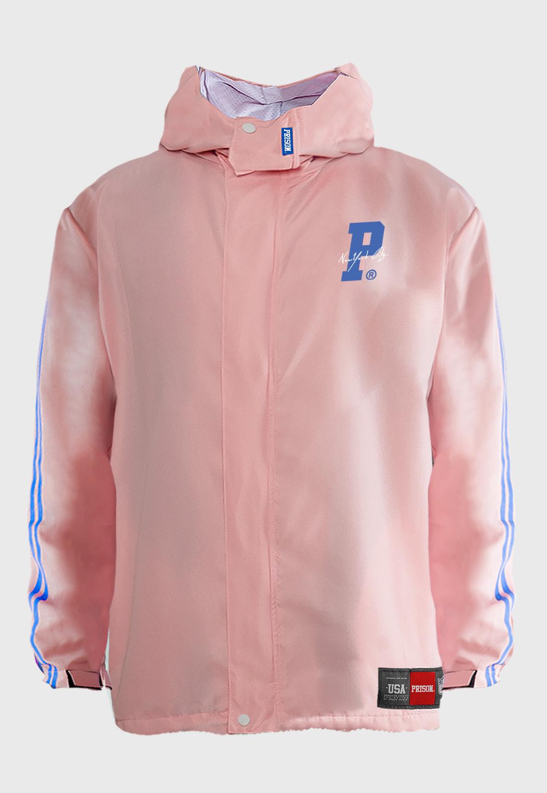 Jaqueta Corta Vento Prison Pink Hype