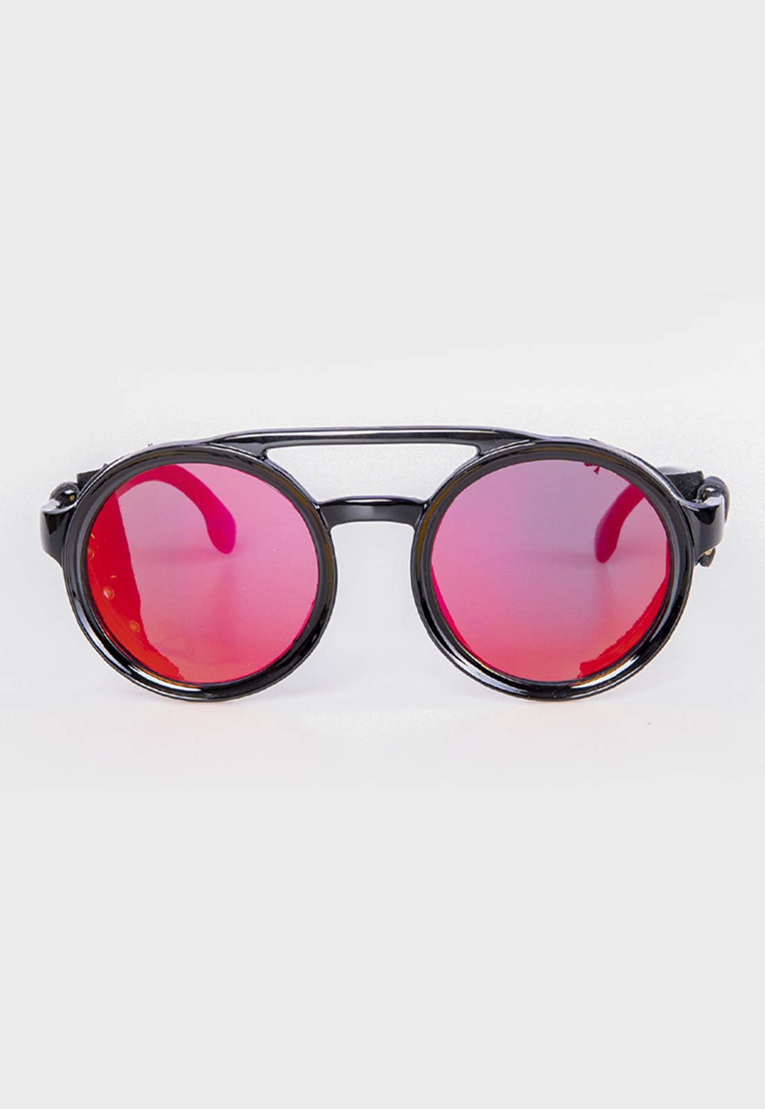 Óculos de Sol Redondo Espelhado Prison Future Soldier
