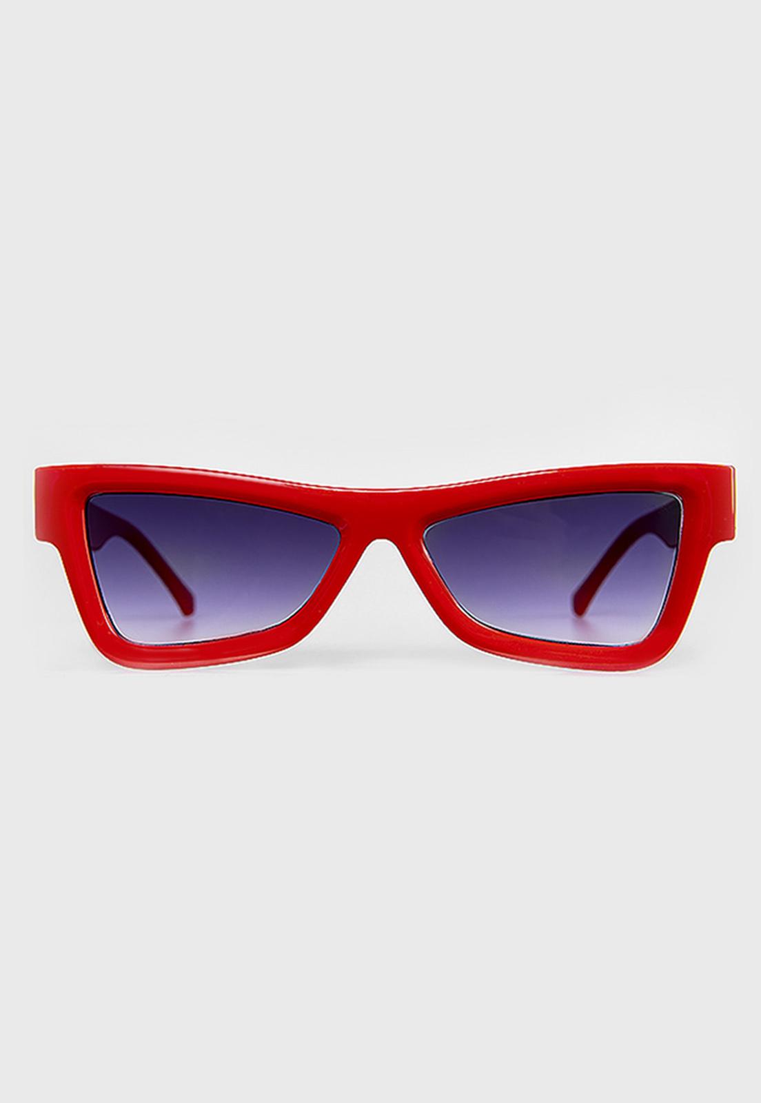Óculos de sol Vermelho Prison Cali Degrade