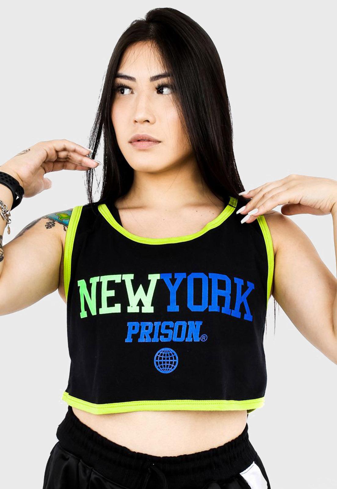 Cropped Regata Prison New York Colors Black Green