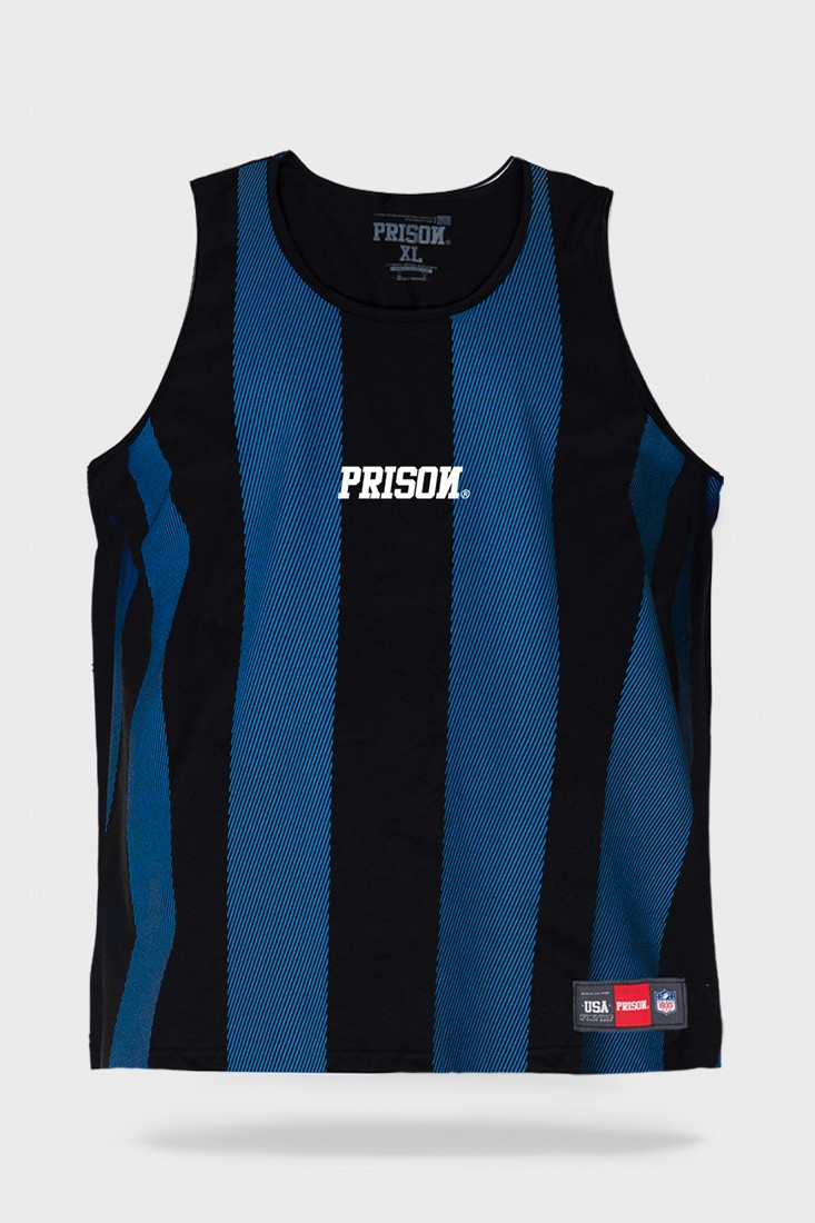 Regata Prison Listrada Long  Stripes Blue