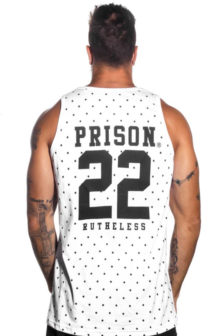 Regata NFL Rutheless Prison Branca