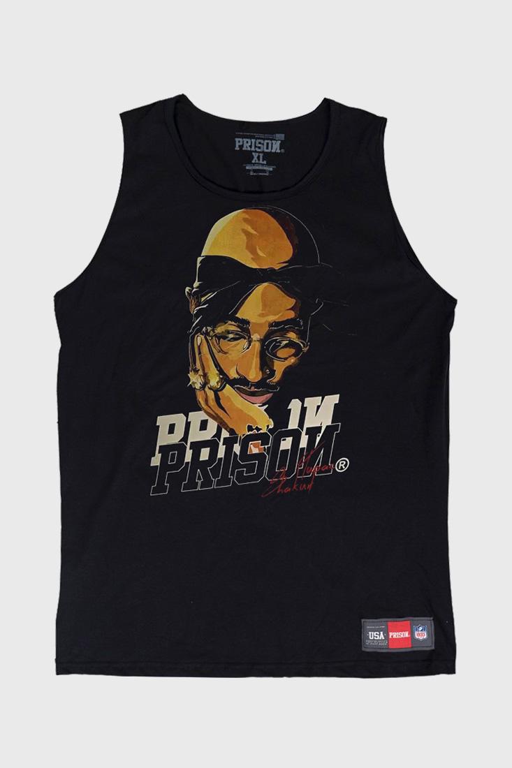 Regata Prison Tupac Shakur Preta