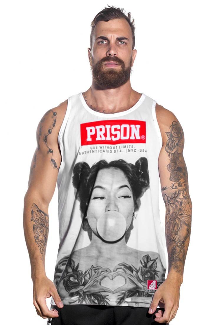 Regata Streetwear Prison Yakuza Branca