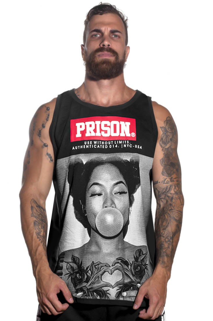 Regata Streetwear Prison Yakuza Preta