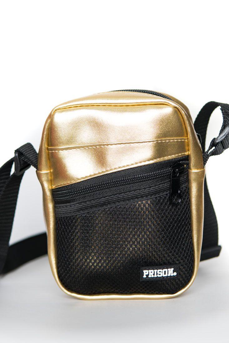 Shoulder Bag Prison 24k dourada