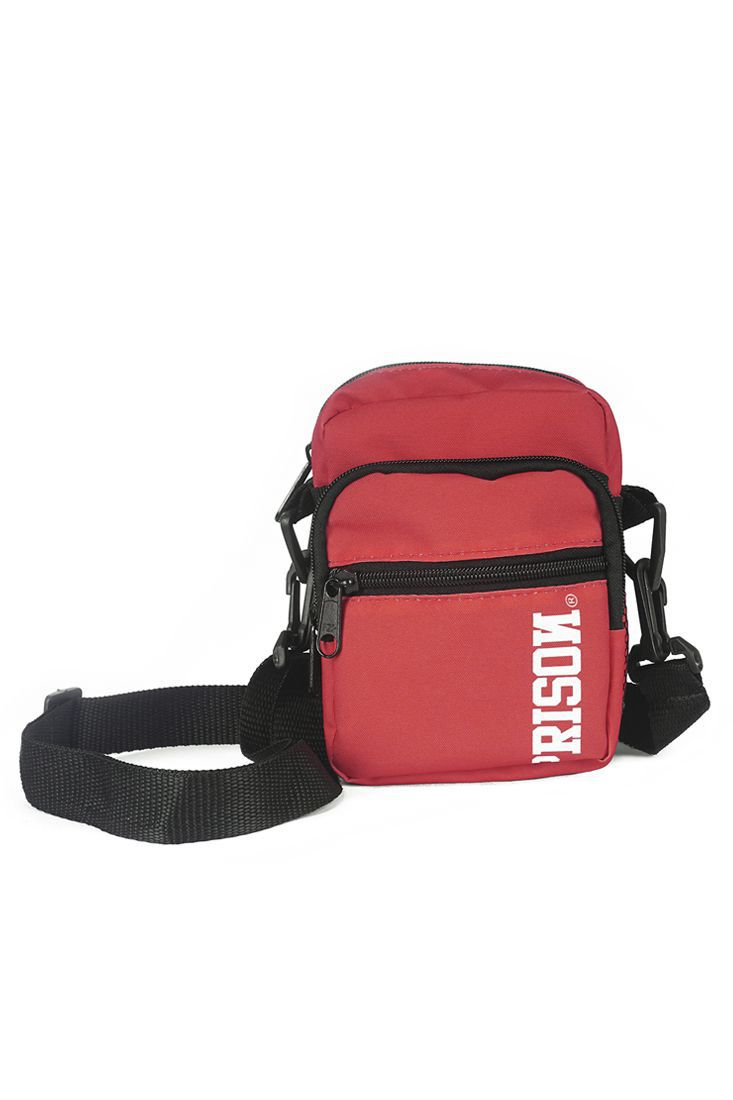 Shoulder Bag Prison Fire Vermelha