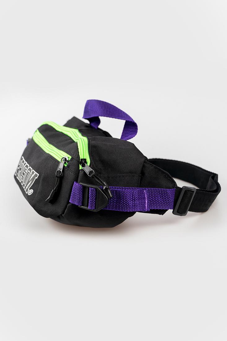 Pochete Bag Prison® Purple and Green