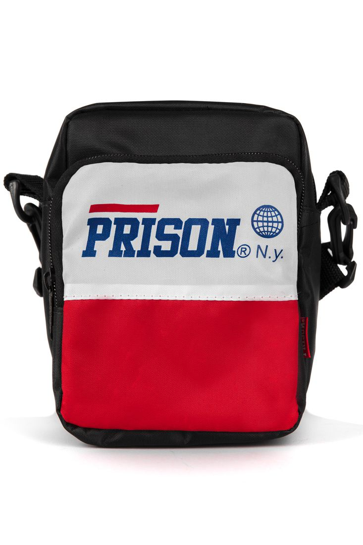 Shoulder Bag Prison Red and White