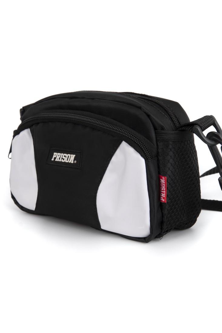 Shoulder Bag Prison Black and White