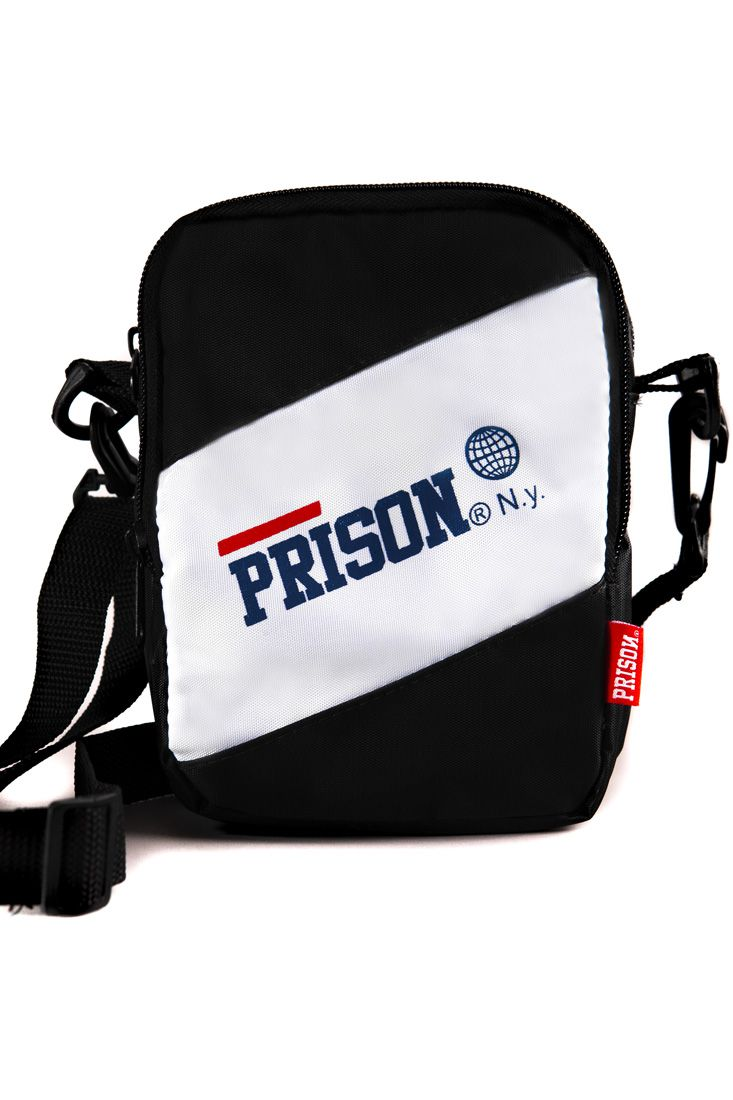 Shoulder Bag Prison White Targe Preta