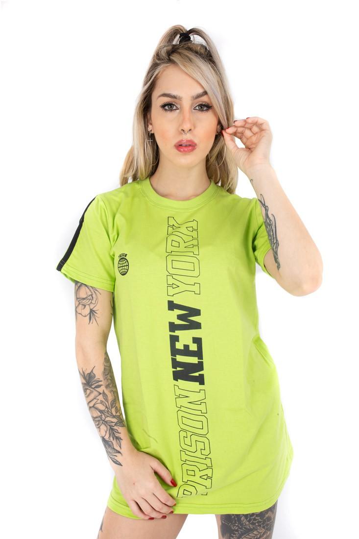 Vestido feminino Prison new york verde