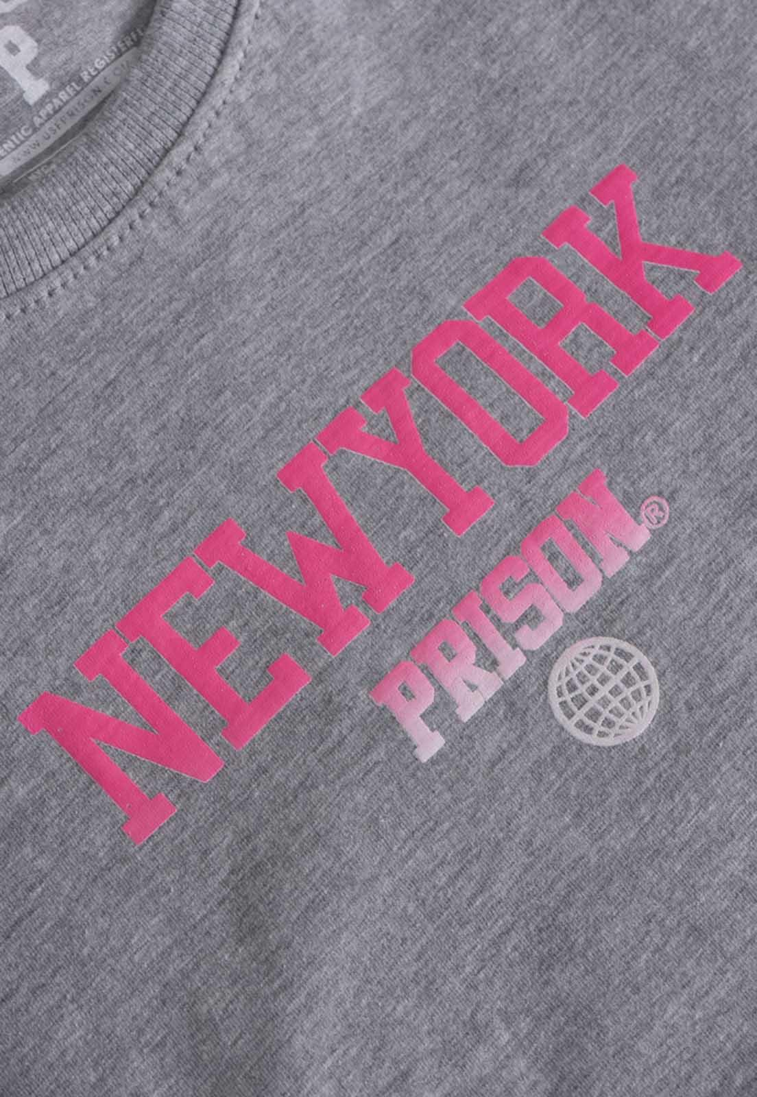 Vestido Streetwear Prison Feminino New York Mescla