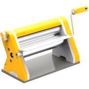 Cilindro Para Massas Manual Cromado Estilo  - Amarelo