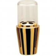 Porta Escova De Dente Spa Golden Aço Inox - Dourado