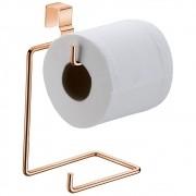 Porta Papel Higiênico Duplo Para Caixa Descarga Acoplada - Cobre